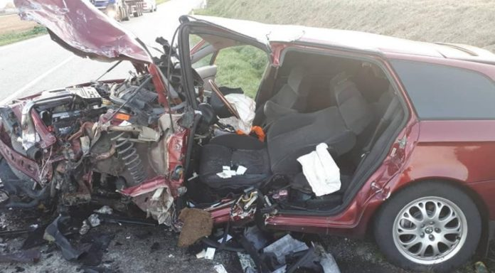 nehoda ostratice