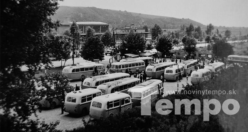 autobusova stanica v patizánskom